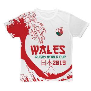 Ladies - Wales - 'Great Wave' T-Shirt