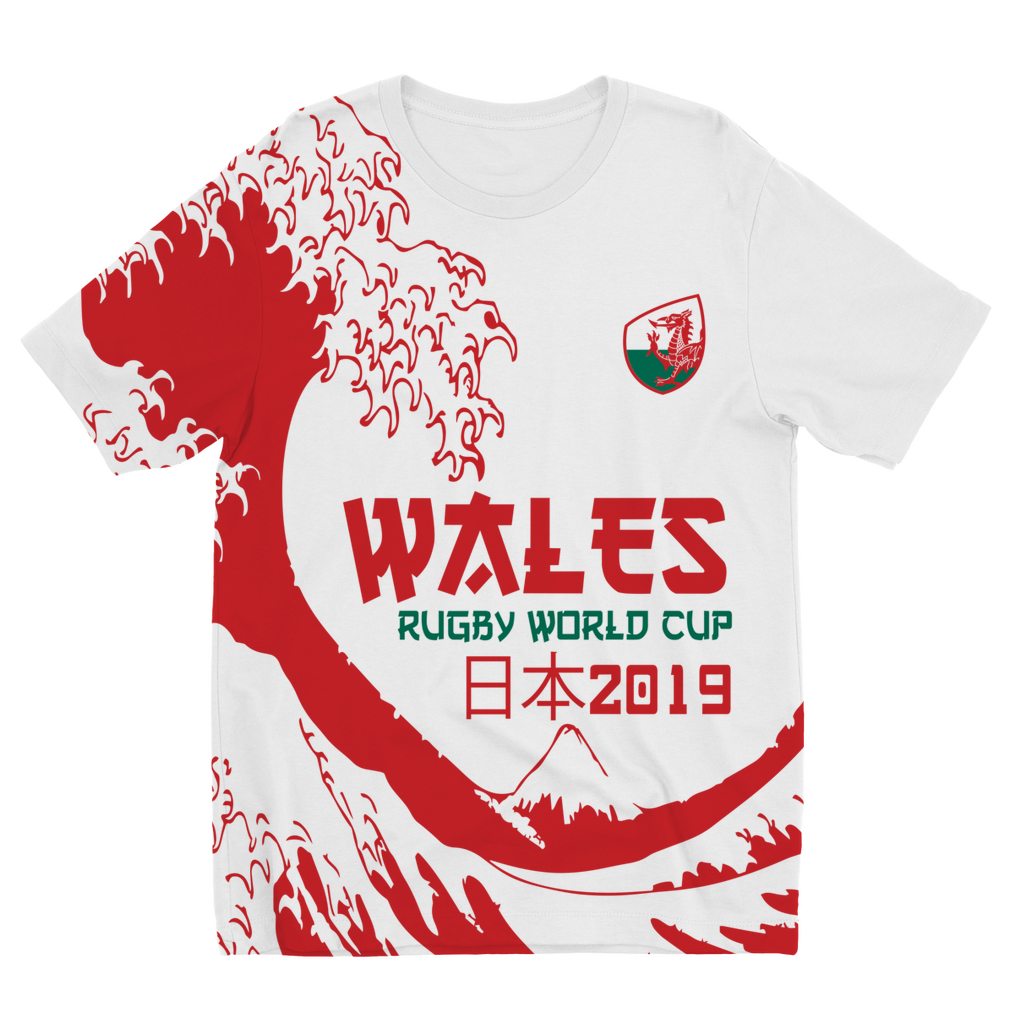 Kids - Wales - 'Great Wave' T-Shirt