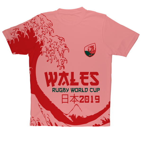 Mens - Wales 'Great Wave' Performance T-Shirt