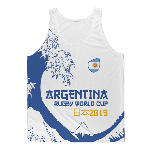 Ladies - Argentina - 'Great Wave' Athlete Vest