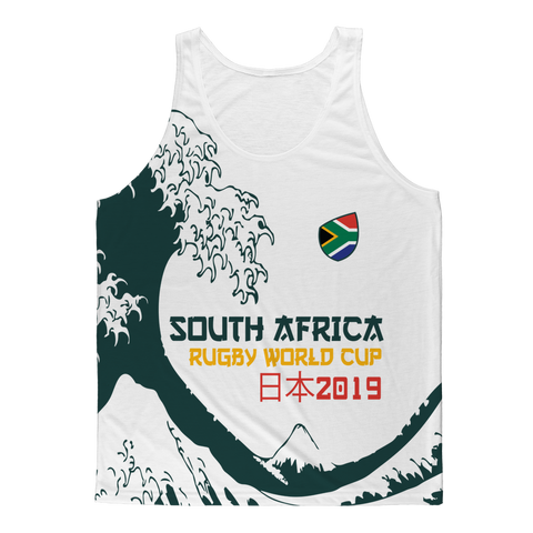 Mens - South Africa - 'Great Wave' Athlete Vest