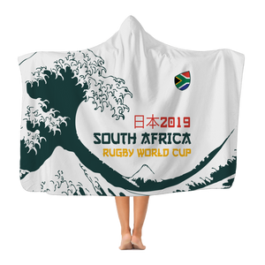 'Great Wave' - South Africa Hooded Blanket