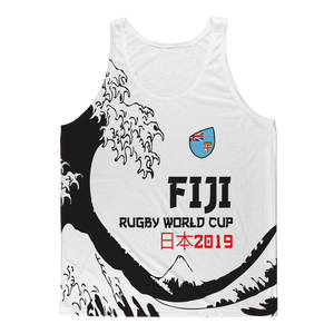 Mens - Fiji - 'Great Wave' Athlete Vest