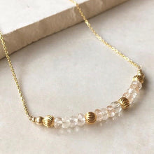 Load image into Gallery viewer, Golden Quartz Necklace