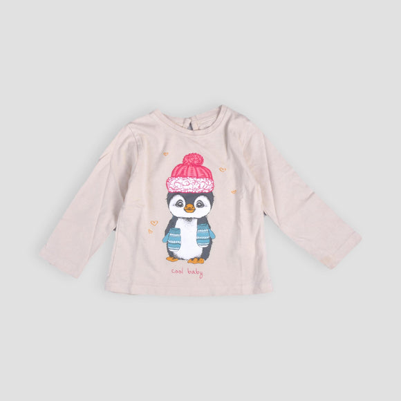 Remera Little Girl 12-18 m