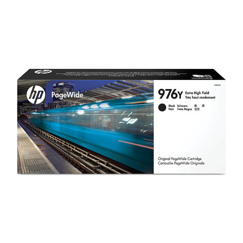 HP 976Y (L0R08A) PageWide Pro 552 577 Managed P55250 P57750 Extra High Yield Black Original PageWide Cartridge (17000 Yield)