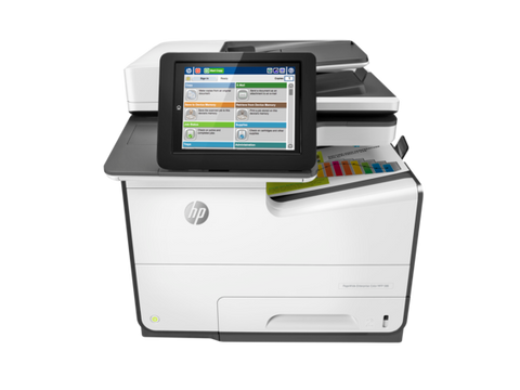 HP 586DN PageWide Enterprise Color MFP