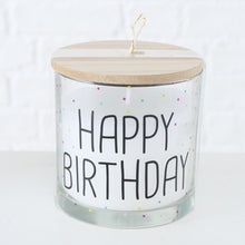 Charger l'image dans la galerie, BOUGIE HAPPY BIRTHDAY. POIS : XS