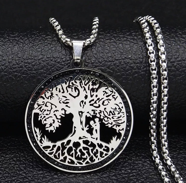 COLLIER ARBRE DE VIE-COUPLE