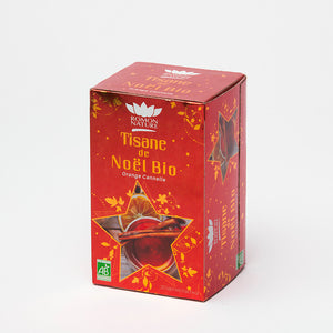 TISANE DE NOËL-ORANGE CANNELLE BIO