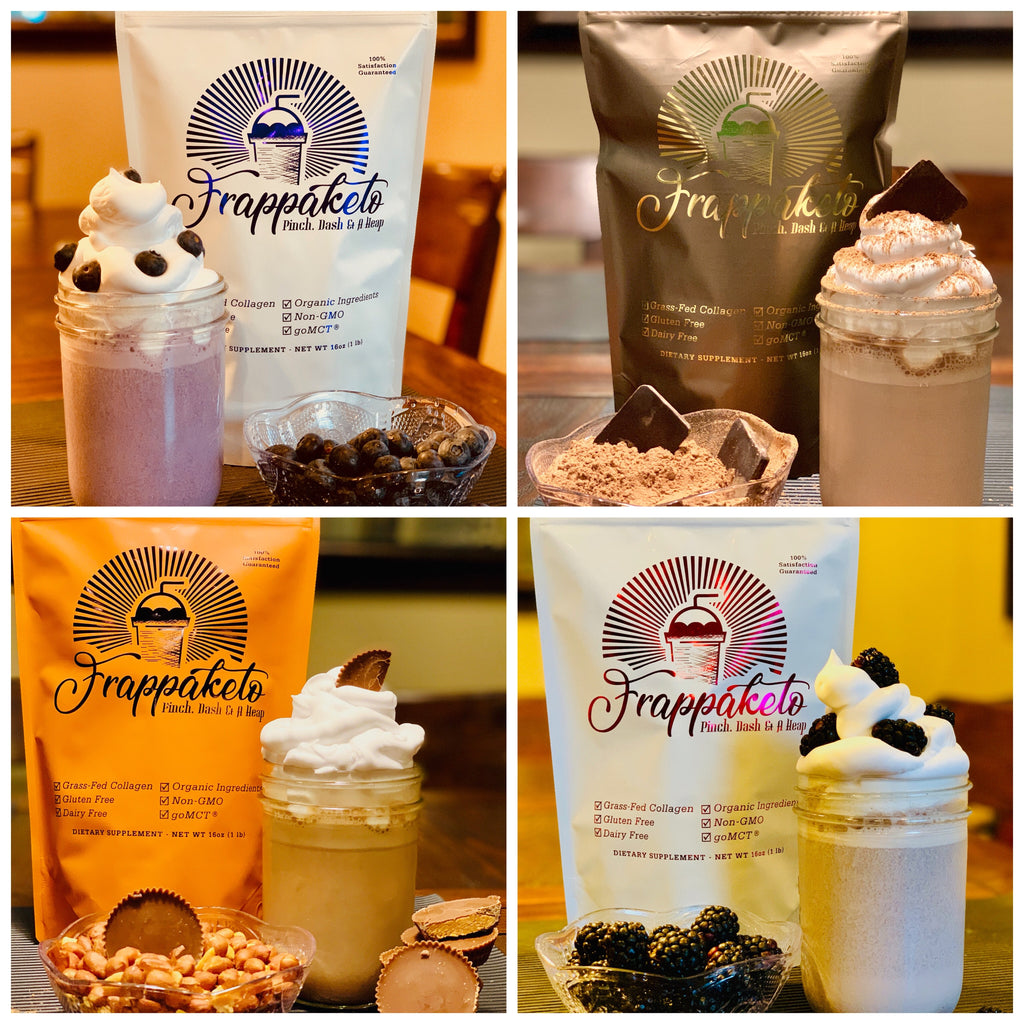 Sampler 4 Pack (One Serving of each Flavor) Buy any 2 Get One 4 pack Sampler Free!!*