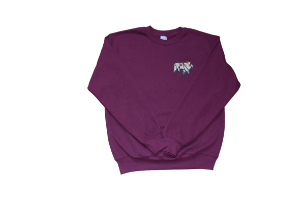 Sudadera burgundy classic frontal