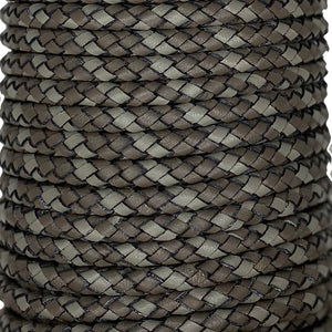 4.75 MM / 6 STRAND BRAID - Dark Grey Multi - Park Avenue Trimming