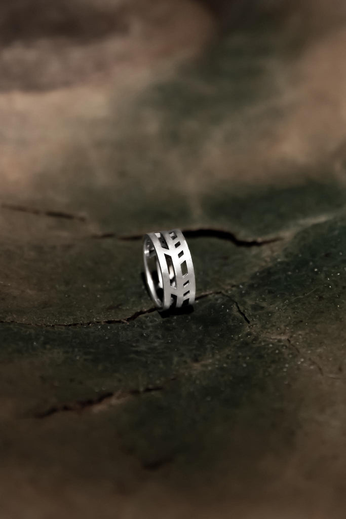 RING 001 - WHITE GOLD