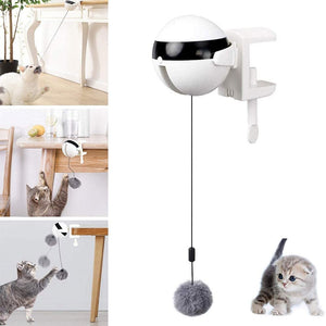 Electric Automatic Lifting Cat Ball Toy Interactive Puzzle Smart Pet Cat Ball Teaser Toys Pet Supply Lifting Balls Electric