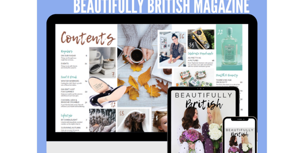 Hettie interview with Julie and Emily from Beautifully British magazine