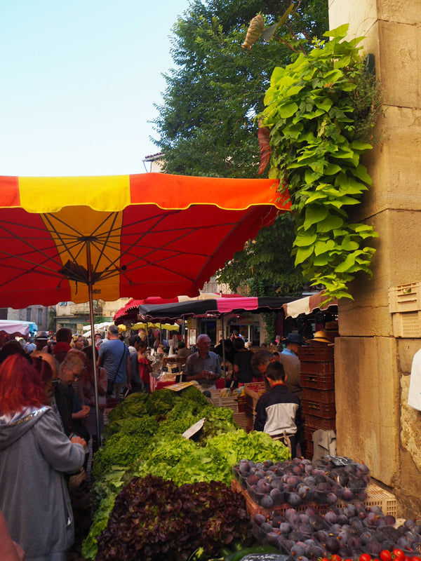 The colours of the French market with  Hettie