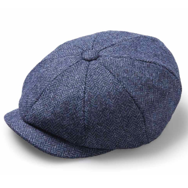 Baker boy hat denim