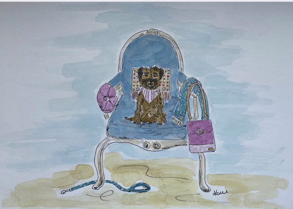 "Hettie art print "" Whose chair ? """