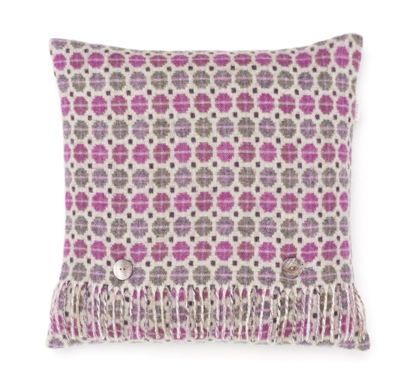 Wool cushion Milan Clover