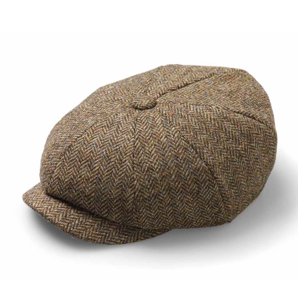 Baker boy hat brown
