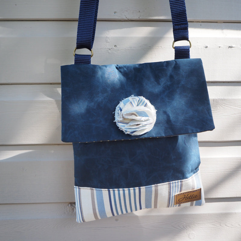 Ella handbag - Chambray canvas