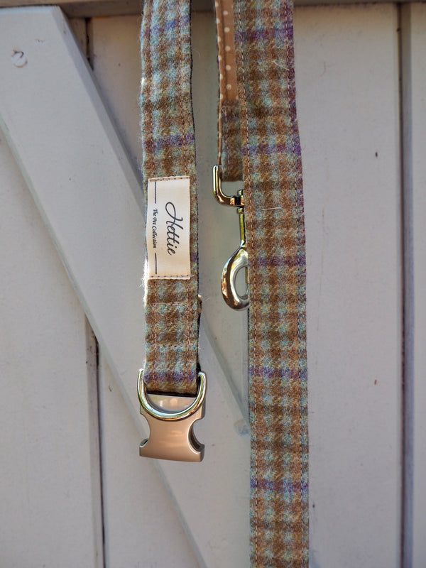 Dog Collar - Loch Heather <br> + FREE Bowtie or Flower