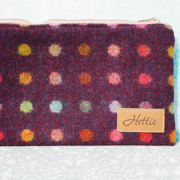 Cosmetic Case - Multispot Wine