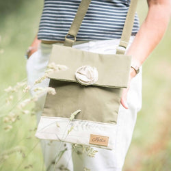 Ella handbag - Fern Canvas
