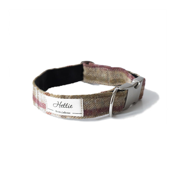 Dog Collar - Arncliffe Moonstone <br> + FREE Bowtie or Flower