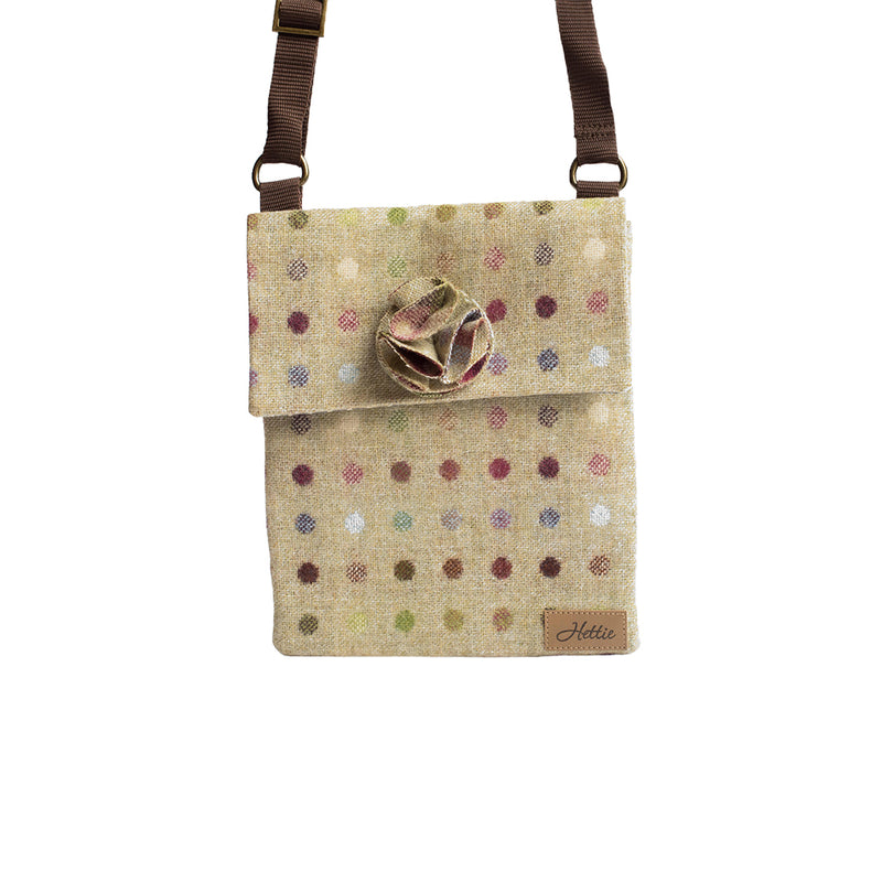 Ella handbag - Multispot Lime