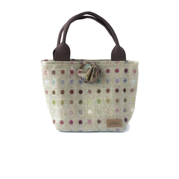 Hettie Bag - Multispot Lime