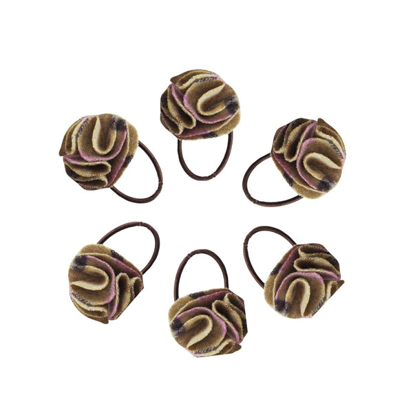 Hettie ladies hair bobble Gargrave lilac