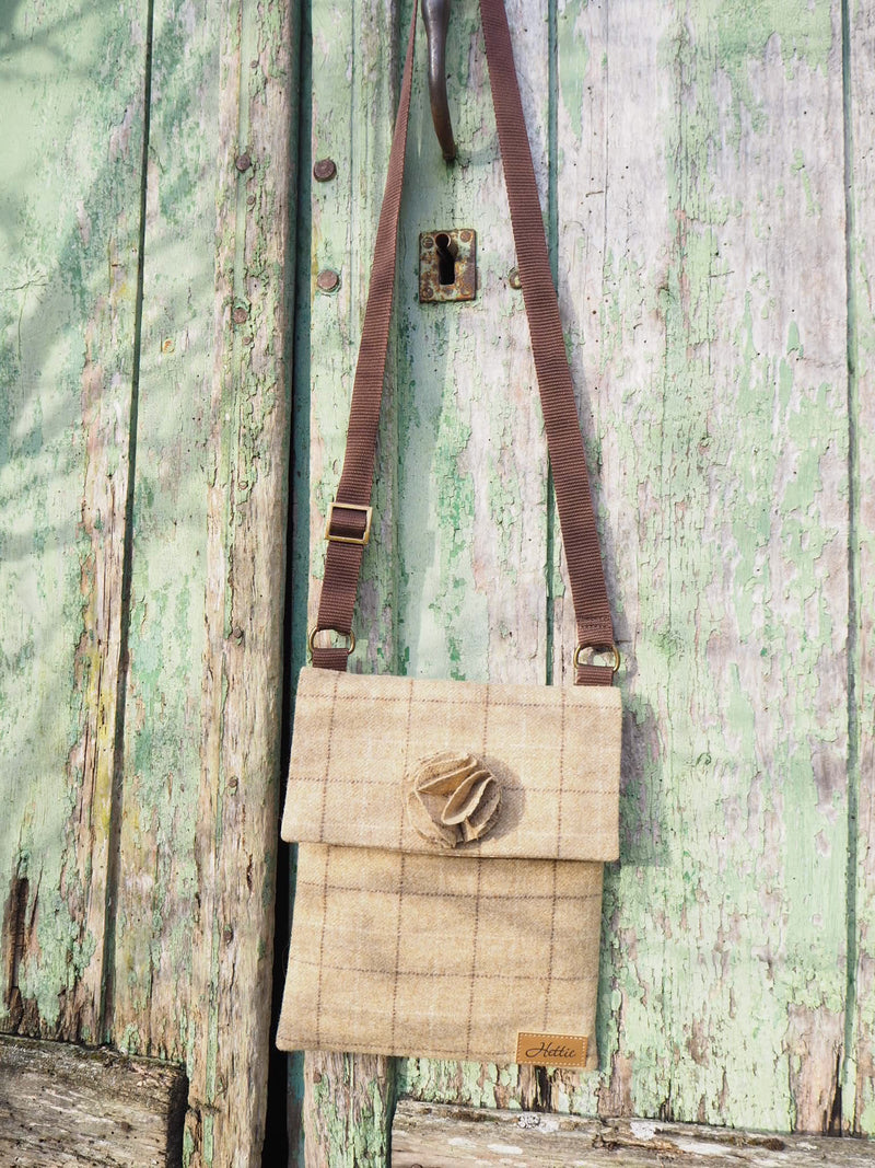Ella Bag - Slate Oatmeal