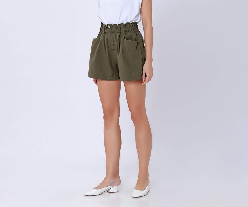 Olive Ellise Shorts - Hellolilo
