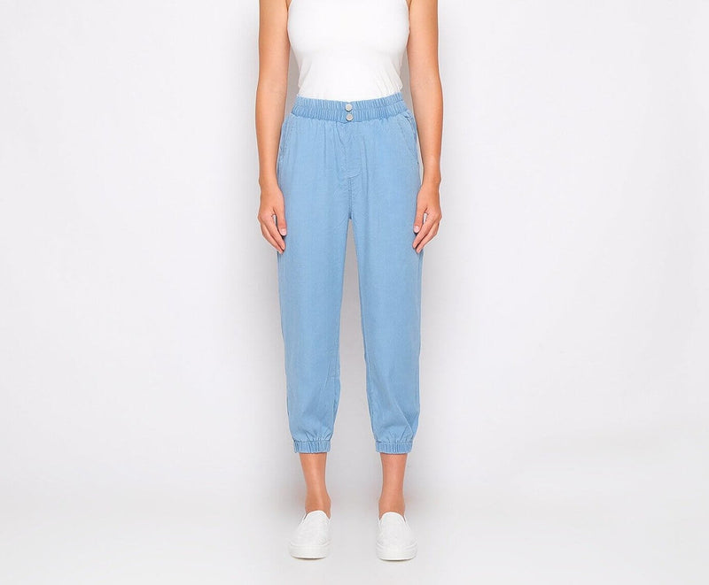 Soft Denim Jogger - Hellolilo