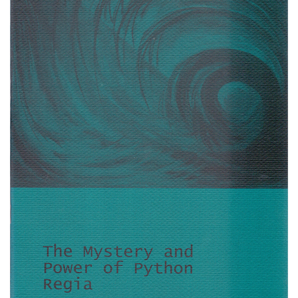 The Mystery and Power of Python Regia