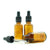 30ml Amber Moulded Glass Dropper Bottle with Tamper Evident Cap