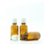 30ml Amber Moulded Screw Cap Bottle with White Tamper Evident Cap