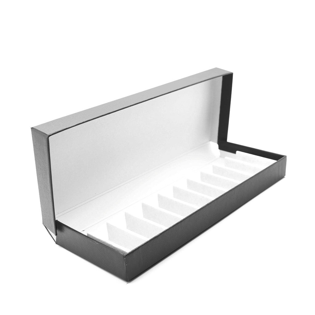 Leatherette Remedy Box to hold 10 x 8g/10ml Bottles