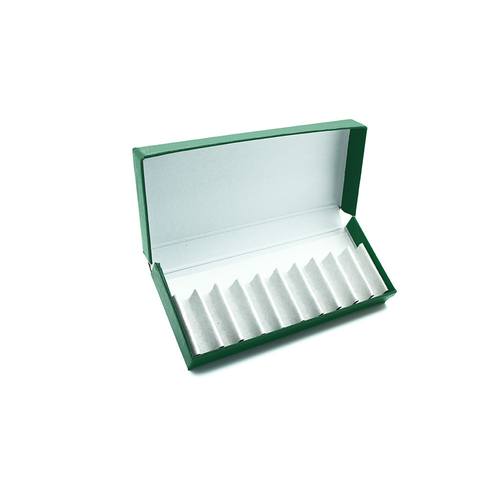 Green Remedy Box to hold 10 x 2g/1.75ml Vials