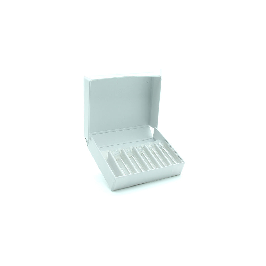 White Cardboard Box with 5 x S1 Vials