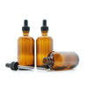 100ml Amber Moulded Glass Dropper Bottle