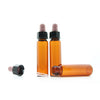 8g/10ml Amber Tubular Glass Dropper Bottle