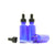 30ml Blue Moulded Glass Dropper Bottle