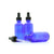 50ml Blue Moulded Glass Dropper Bottle