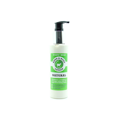 Fielding Cottage Natural Goats Milk Hand and Body Lotion