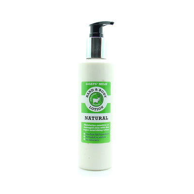 Fielding Cottage Natural Goats Milk Hand and Body Lotion - 250ml