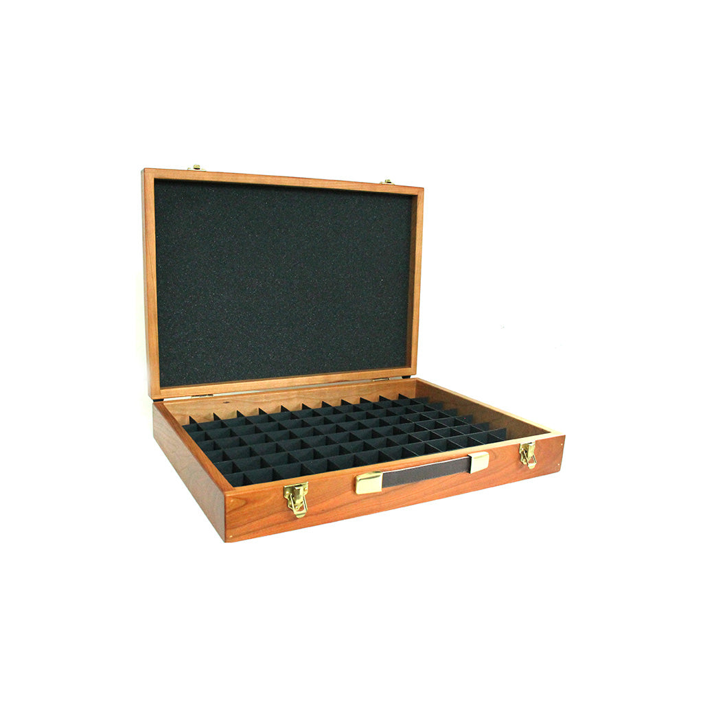 Cherrywood Case with 46mm Grid System