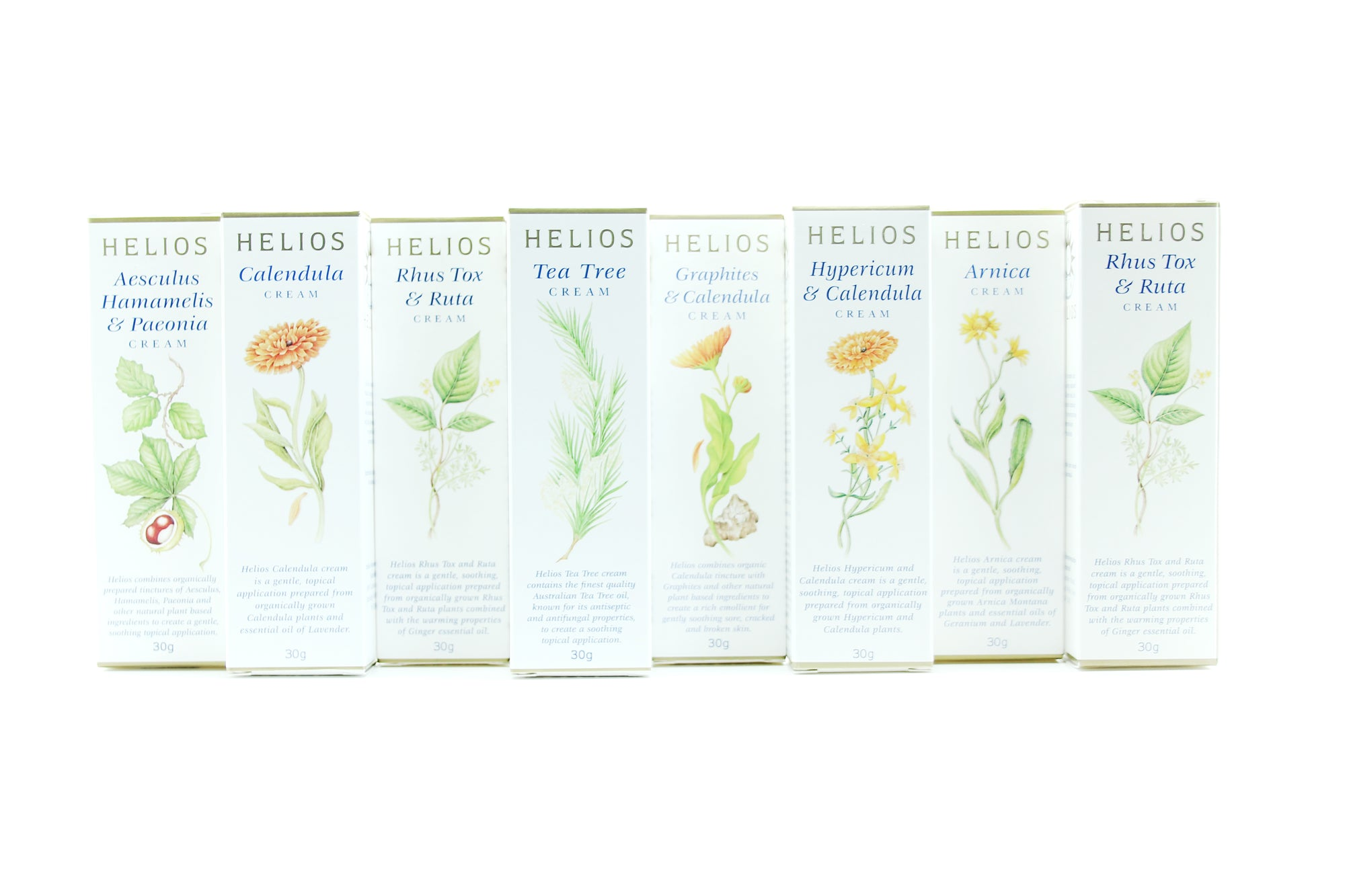 Helios Cream Collection